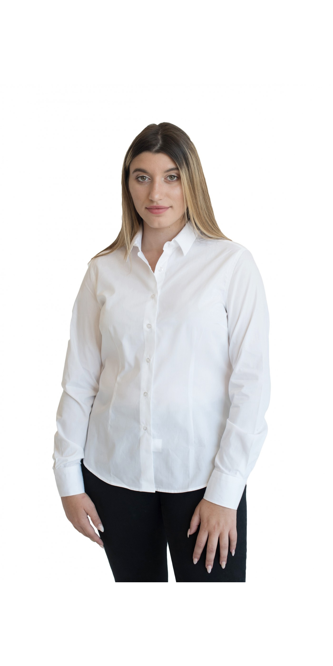 b8abb948663d Γυναικείο Πουκάμισο Λευκό - RAFFAELA. Loading zoom